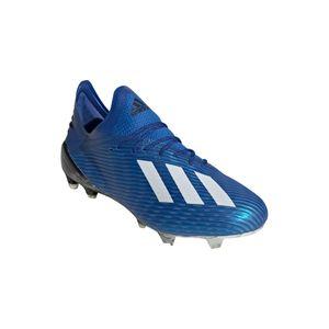 adidas X 19.1 FG Herren Fußballschuh blau schwarz weiß EG7126 – Bild 4