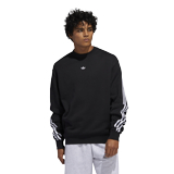 adidas Originals 3Stripe Wrap CR Sweater Herren schwarz FM1522 – Bild 3