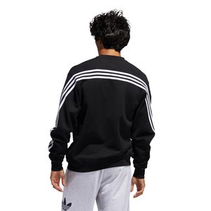 adidas Originals 3Stripe Wrap CR Sweater Herren schwarz FM1522 – Bild 4