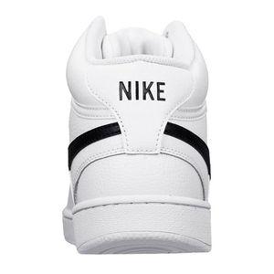 Nike Schuhe Court Vision Mid Sneaker weiß schwarz – Bild 3