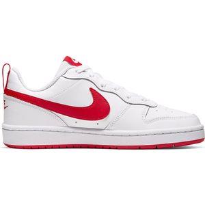Nike Court Borough Low 2 GS Kinder Sneaker weiß rot BQ5448 103 – Bild 1
