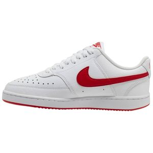 Nike Court Vision Low Damen Sneaker low weiß rot – Bild 2