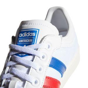 adidas Originals Americana Low Sneaker weiß blau EF2508 – Bild 7