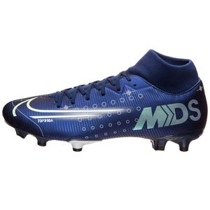 Nike Superfly 7 Academy MDS FG/MG Fußballschuhe dunkelblau BQ5427 401 – Bild 2