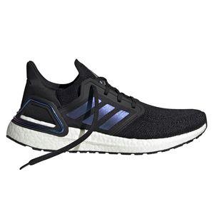 adidas Herren Ultra Boost 20 Running Sneaker schwarz lila weiß EG0692 – Bild 1
