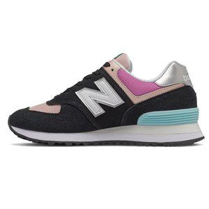 New Balance WL574SOS Damen Sneaker schwarz pink – Bild 2