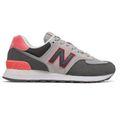 New Balance WL574SOP Damen Sneaker grau pink