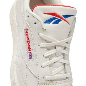 Reebok Club C 85 MU Herren Sneaker beige rot – Bild 7