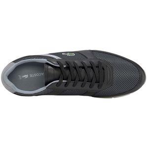 Lacoste Menerva Sport 120 Herren Sneaker schwarz grau – Bild 3