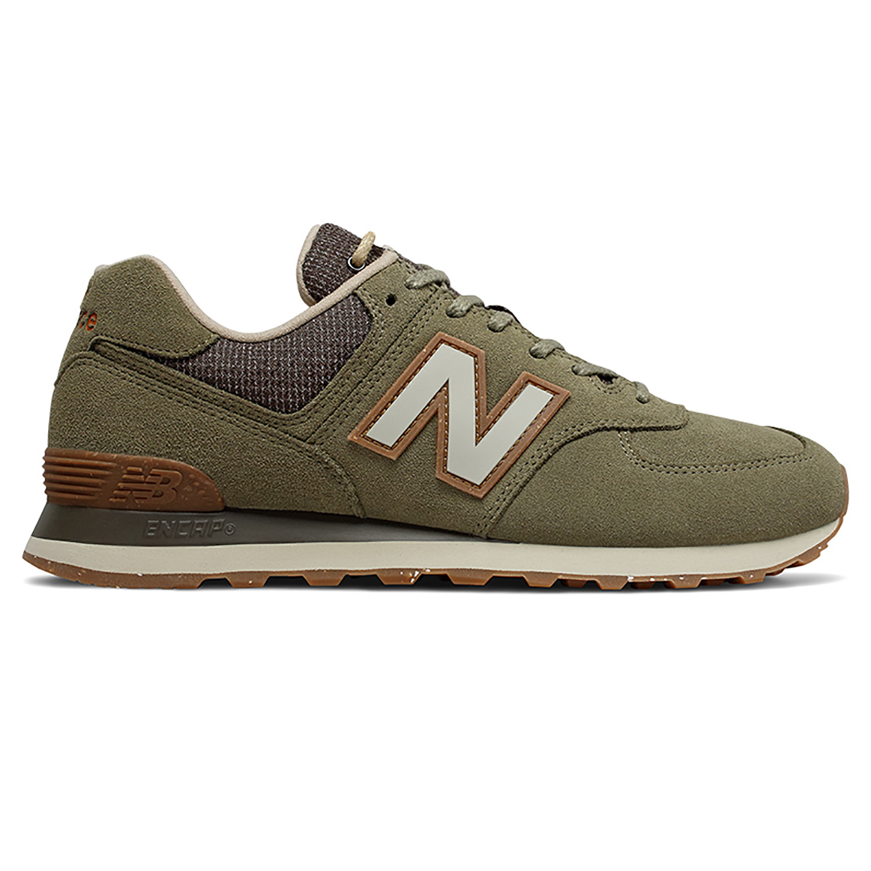 New Balance ML574SOJ Herren Sneaker olivgrün