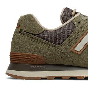 New Balance ML574SOJ Herren Sneaker olivgrün 774961-60 6 – Bild 4