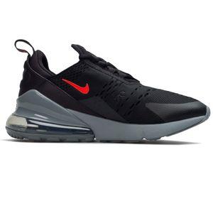 Nike Air Max 270 BG Kinder Sneaker schwarz grau rot CN9575 002 – Bild 2