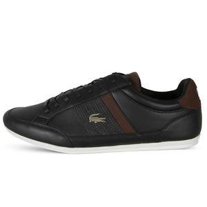 Lacoste Chaymon Herren Sneaker schwarz braun – Bild 2
