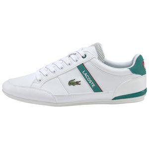 Lacoste Sneaker Chaymon Herren weiß grün  – Bild 2