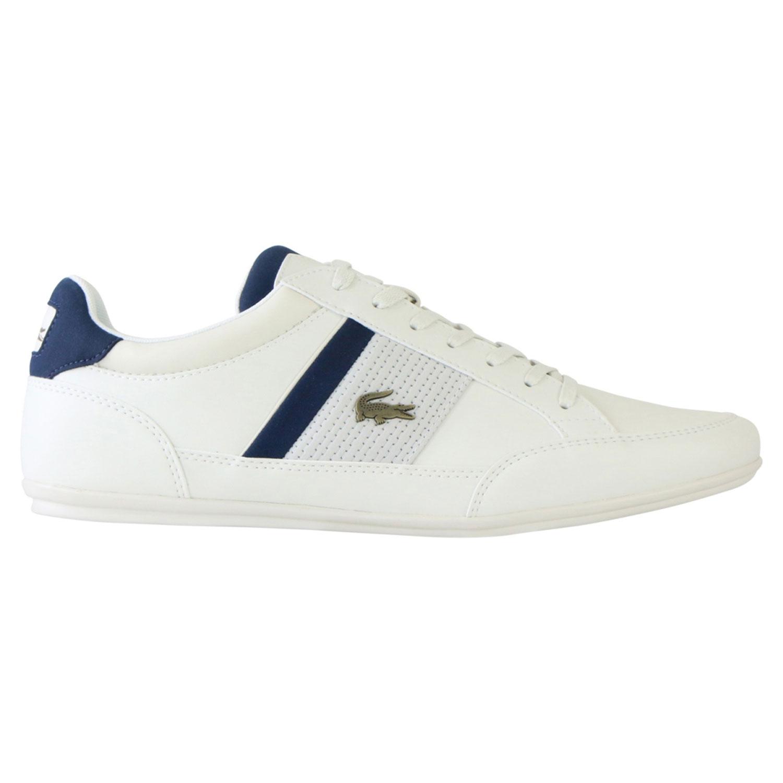 Lacoste Chaymon Herren Sneaker weiß blau