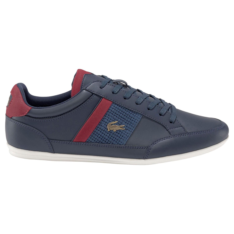 Lacoste Sneaker Chaymon Herren blau rot
