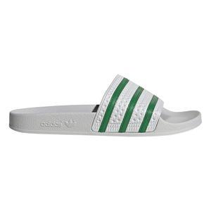 adidas Originals Adilette Badeschuhe hellgrau grün EG4946 – Bild 1