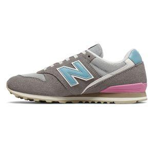 New Balance WL996COL Damen Sneaker grau blau pink – Bild 2