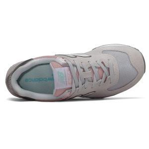 New Balance WL574SOT Damen Sneaker grau rose – Bild 3