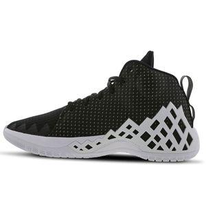 Jordan Jumpman Diamond Mid Herren Sneaker schwarz weiß CI1204 001 – Bild 2