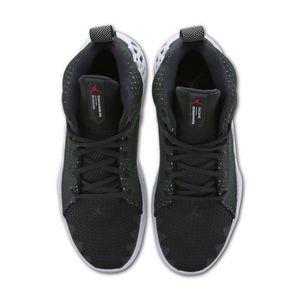 Jordan Jumpman Diamond Mid Herren Sneaker schwarz weiß  – Bild 3