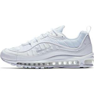 Nike Air Max 98 Herren Sneaker weiß 640744 106 – Bild 2