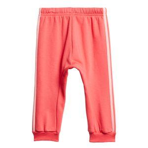 adidas Infant 3S Logo Jogger FL Kleinkind Jogginganzug pink FM6390 – Bild 6