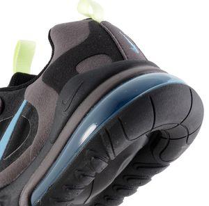 Nike Air Max 270 React GS Kinder Sneaker schwarz grau blau – Bild 4