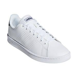adidas Performance Advantage Herren Sneaker weiß navy F36423 – Bild 4