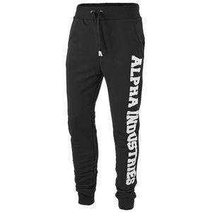 Alpha Industries Big Letters Jogger schwarz – Bild 1