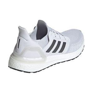 adidas Ultra Boost 20 Running Sneaker grau weiß EG0694 – Bild 4