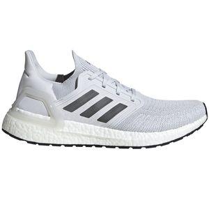 adidas Ultra Boost 20 Running Sneaker grau weiß EG0694 – Bild 1