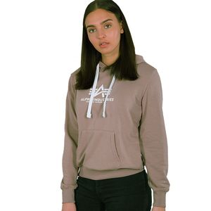 Alpha Industries new Basic Hoody Damen mauve 196032/416 – Bild 1