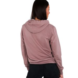 Alpha Industries Damen new Basic Hoody hellbraun – Bild 2