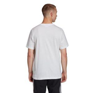 adidas Originals Trefoil T-Shirt Herren weiß grün FM3789 – Bild 2
