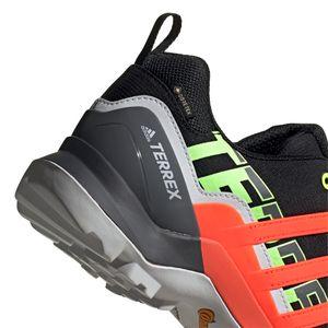 adidas Terrex Swift R2 GTX Herren Outdoor Walking schwarz grau orange – Bild 6