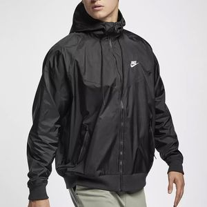 Nike Sportswear Herren Windrunner schwarz AR2191 010 – Bild 3