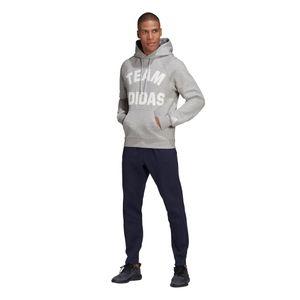 adidas Performance Team Adidas Hoodie Herren grau DX7957 – Bild 3
