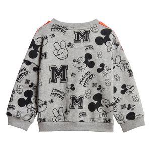 adidas Mickey Mouse Jogger Kleinkind Jogginganzug grau rot FM2865 – Bild 3