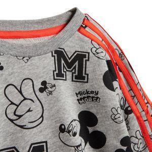 adidas Mickey Mouse Jogger Kleinkind Jogginganzug grau rot FM2865 – Bild 6