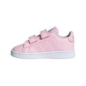 adidas Advantage I Kinder Sneaker pink weiß EF0304 – Bild 2