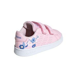 adidas Advantage I Kinder Sneaker pink weiß EF0304 – Bild 4