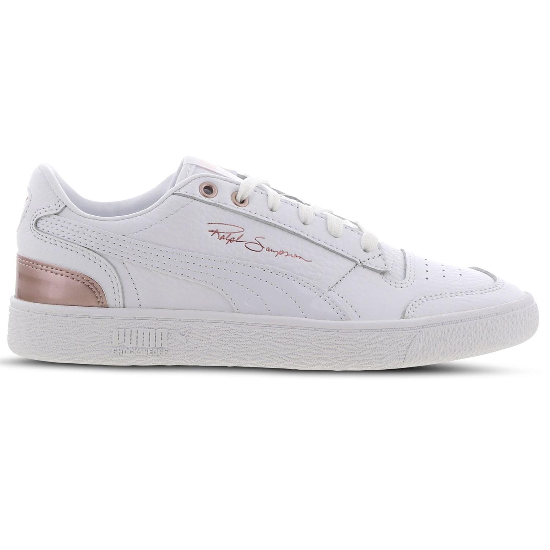 Puma Sneaker Ralph Sampson Lo Sneaker weiß metallic rose