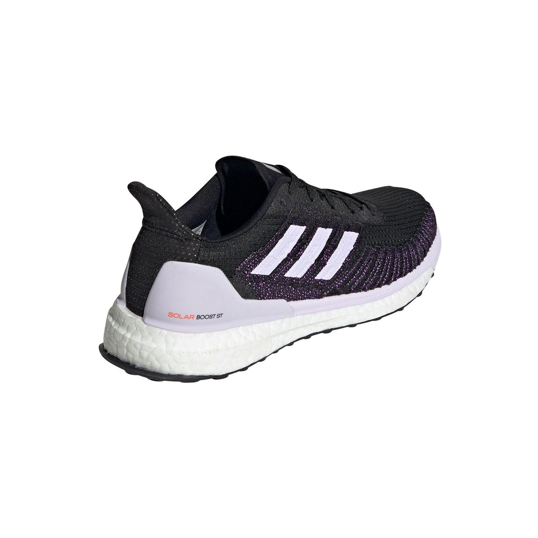 adidas Solar Boost 19 ST W Damen Lauf Runningschuh schwarz lila EH4321