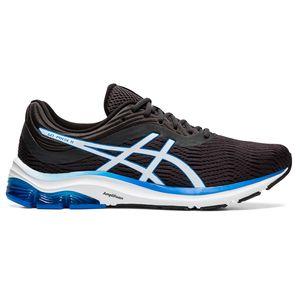Asics Gel-Pulse 11 Herren Runningschuhe grau weiß blau 1011A550-021 – Bild 1