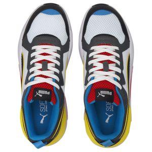 Puma X-Ray Sneaker weiß schwarz gelb blau – Bild 3