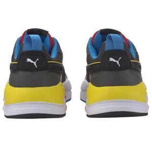 Puma X-Ray Sneaker weiß schwarz gelb blau – Bild 4