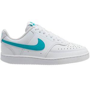 Nike WMNS Court Vision Low Damen Sneaker weiß türkis CD5434 102 – Bild 1
