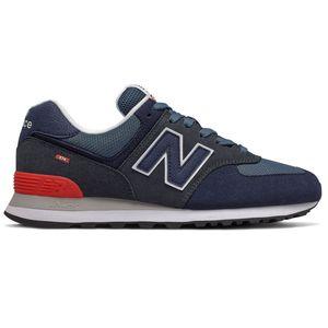 New Balance ML574EAE Herren Sneaker blau rot 774921-60 10 – Bild 1