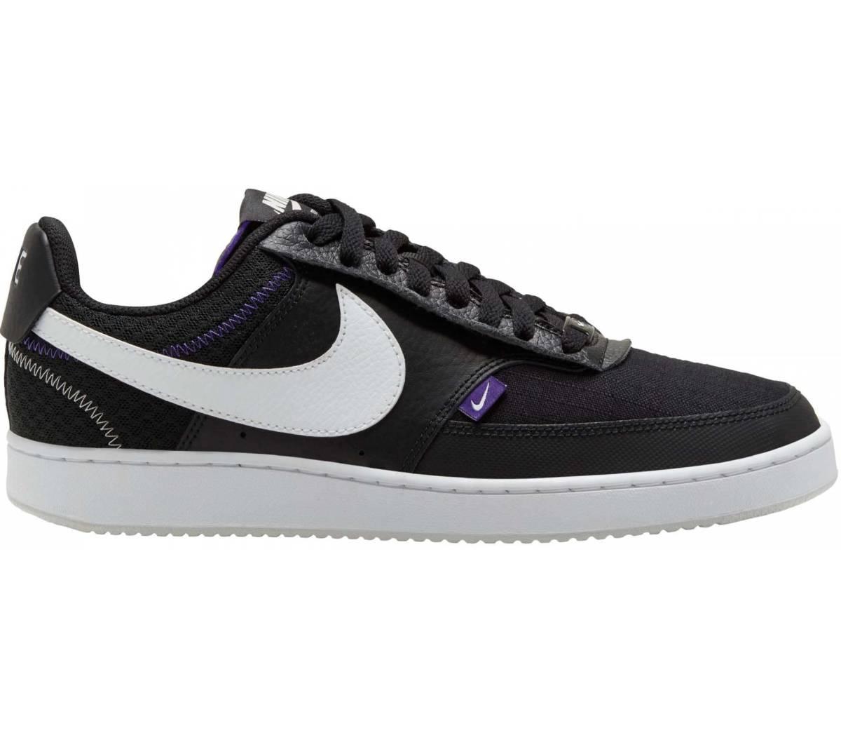 Nike Court Vision Lo Prem schwarz weiß